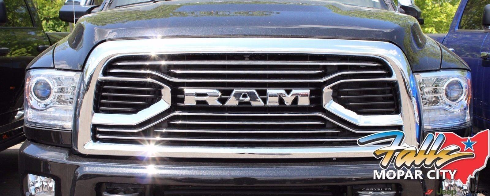 2013-2018 Dodge RAM 2500-5500 Chrome Laramie Limited Front Grille MOPAR OEM | eBay