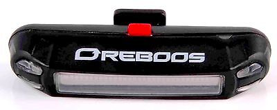 Reboos USB Rechargeable LED Bicycle Bike Red Tailight Rear T