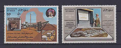 OMAN – 1983 National Day, MNH-VF – Scott 250-51