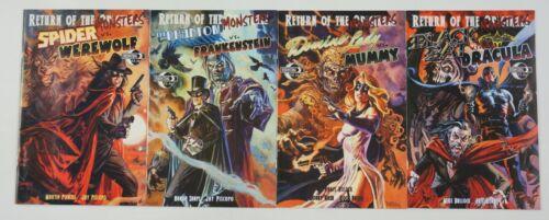 Return of the Monsters set (4) VF/NM phantom/spider/dracula/mummy/frankenstein
