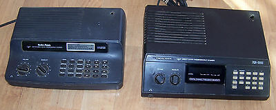 2 RADIO SHACK PRO-2029 PRO-2009 BASE FIRE POLICE SCANNER RADIOS FOR PARTS REPAIR
