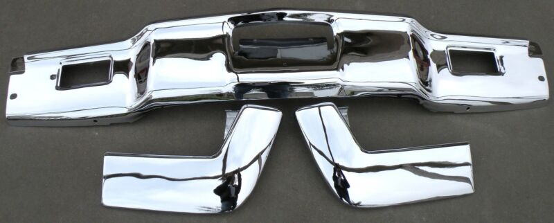 Lincoln Continental New Triple Plated Chrome Front Bumper 1966-1967 66-67 Oem