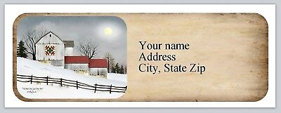 Personalized Address Labels Primitive Country Buy 3 Get 1 Free Ac 979