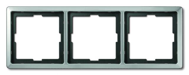 Merten ARTEC 3-fach Rahmen Edelstahl 481346 Abdeckrahmen für Steckdose Schalter