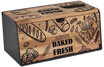 Brotkasten Edles Holzdesign Brotkiste Brotbox Brot Aufbewahrungsbox Brotkorb