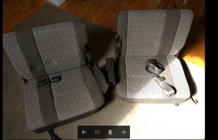 3rd row seats - Land cruiser  80 series never used Freshwater Manly Area Preview