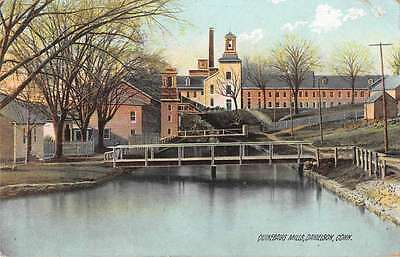 Danielson Connecticut Quinebaug Mills Scenic View Antique Postcard J52246
