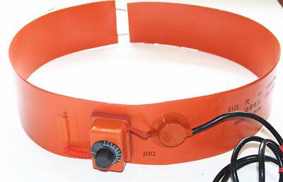 Multiple 110v 220v Pail Band Barrel Drum Oil Biodiesel Blanket Silicone Heater