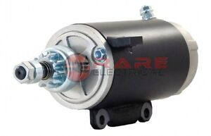 NEW HIGH QUALITY STARTER MOTOR 73-95 EVINRUDE MARINE OUTBOARD 115 115HP 385529