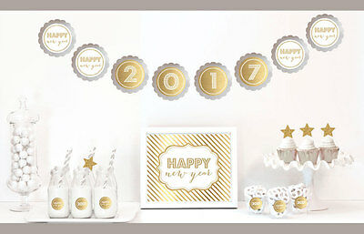 Gold And Glitter New Years Eve Party Decorations Kit](New Years Eve Party Kit)