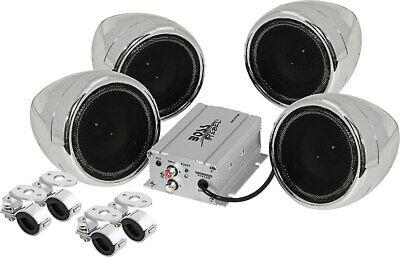 """Boss MC470B Speakers 3"""" Motorcycle/UTV Speaker System 1000W"""