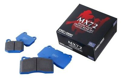 ENDLESS Brake pads MX72 F&R set for NISSAN 370Z MX72373469 from JAPAN