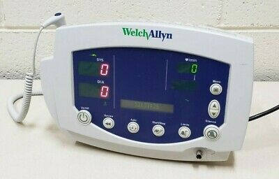 Welch Allyn Model 530t0 Vital Signs Patient Monitor W Power-supply