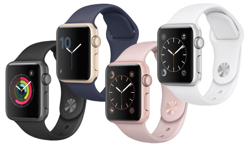 New Apple Watch Series 1 38mm Smartwatch Aluminum Case Sport Band Variations