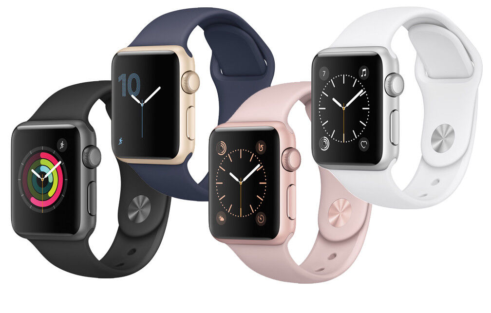 $219.99 - New Apple Watch Series 1 38mm Smartwatch Aluminum Case Sport Band Variations