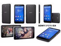 Sony Xperia E4 Android Smart Phone - Vodafone - Black - 4G