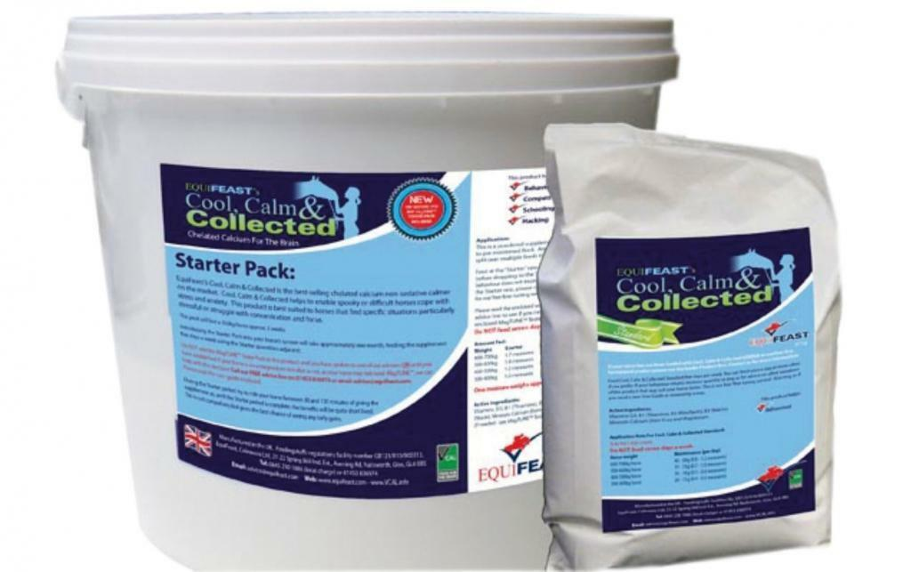 Cool Calm Collected Horse Supplement Starter Pack EquiFeast