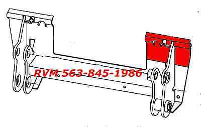 Bobcat Bobtach Repair Panel Plate 7143508 Right Hand Fits S185 Quick Attach