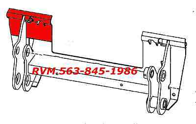 Bobcat Bobtach Repair Panel Plate 7143508 Left Hand Fits S150 Quick Attach