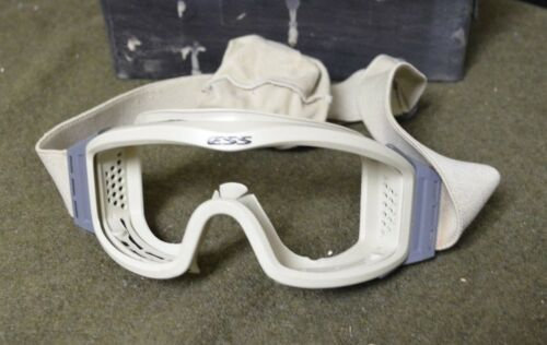 ESS Profile NVG Goggles Army Issue Desert Tan Clear