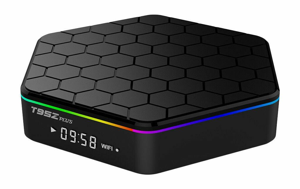 Sunvell T95Z Plus Octa Core 4K x 2K H 265 Decoding 2 4G + 5G Dual Band WiFi  TV Box