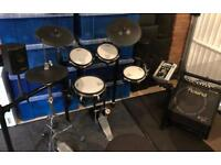 Roland TD-9 Electronic Drum Kit ~ Everything Included!