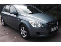 KIA CEED GS CRDI, 2007, DIESEL, 5 DOOR, BLUE, MOT MARCH 2018!!