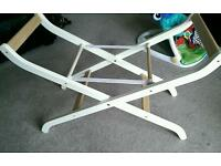Very sturdy folding Moses basket stand