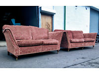 Duresta Ruskin 3+2 sofa set DELIVERY AVAILABLE