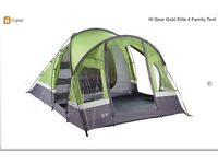 Family size tent, brand new, never been used