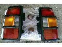 Pajero rear light lenses