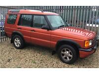 Land Rover discover td5 1999 spares or repair
