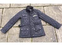 Black padded ladies jacket - size 10