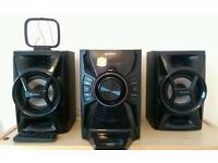 Sony mini hi-fi iPod docking station