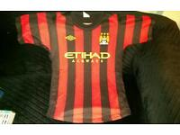 Manchester City's David Silva Shirt