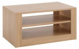 Coffee table or tv cabinet oak effect for sale
