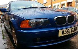 Bmw 318 good condition,NEW MOT,LOW MILEAGE