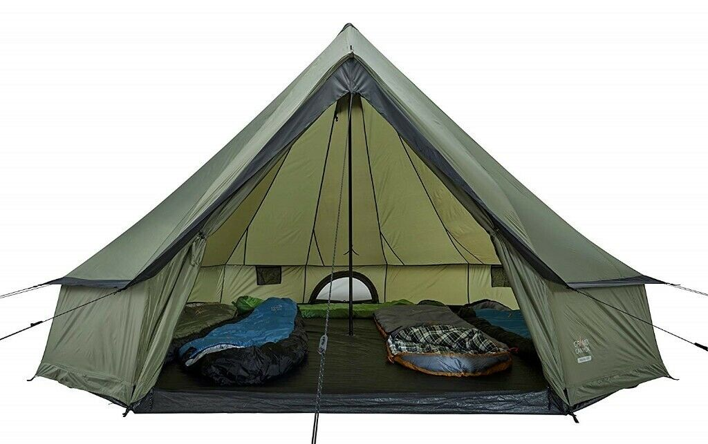 GRAND CANYON Indiana round tent 8