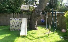 Slide Swing Climbing Adventure Garden Play set