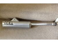 KTM 250 DEP EXHAUST PIPE 1985 1986 85/86 Like New Fitted to show bike COLLECTION OR POSTAGE