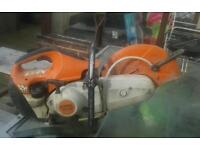 Stihl ts410 petrol cutting saw