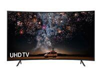"Samsung 49"" Curved Smart TV RU7300 Series Smart 4K"