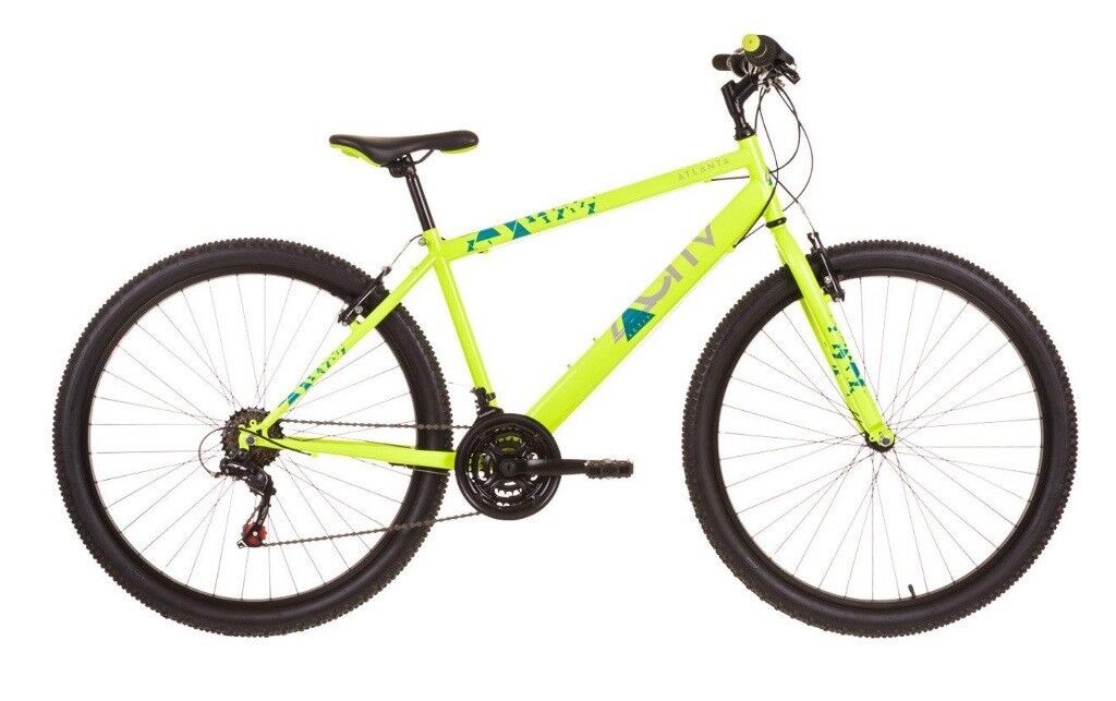 Raleigh Activ Atlanta Mens Rigid Suspension Mountain Bike - 20 Inch ...