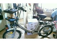 Electric pushbike 2015