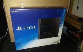 PlayStation 4 like new with games