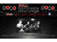 Dep guitarist required for Brighton based rock covers band Fullhouse