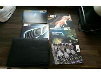 Bmw owners folder and manuals