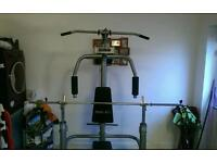 Reebok Home multigym with 124kg of free weights for sale