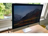 27-inch iMac with Retina 5K display (bought in June 2017)