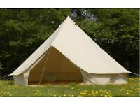 5 Meter Ultratech Bell Tent in Excellent Condition